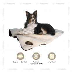 Yappy Roxy Large Dog Blanket   Brown - Dog Nappers Dog Beds