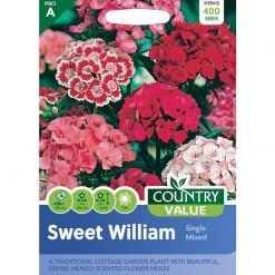Sweet William Single Mixed| Flower Seeds| Nationwide Delivery