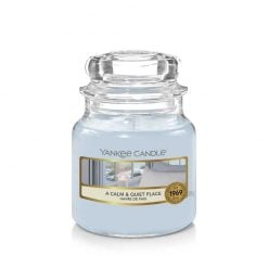 Yankee Candle A Calm And Quiet Place Small Jar Candle   1577137E   Yankee Candle Delivery In Ireland
