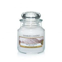 Yankee Candle Angel's Wings Small Jar Candle   1306398E   Yankee Candle Delivery In Ireland
