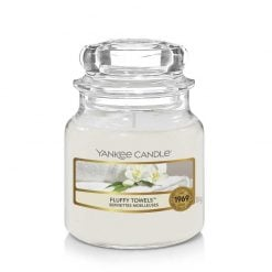 Yankee Candle Fluffy Towels Small Jar Candle   1205378E   Yankee Candle Delivery In Ireland