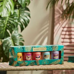 Yankee Candle The Last Paradise Collection Five Votive Gift Set   1630308E   Yankee Candle Delivery In Ireland
