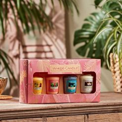 Yankee Candle The Last Paradise Collection Four Votive Gift Set   1630307E   Yankee Candle Delivery In Ireland