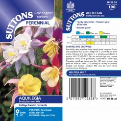 Antirrhinum Seeds - Pretty Bonnets Mix by Suttons Seeds  102828  Nationwide Delivery On Flower Seeds