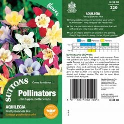 Aquilegia Seeds - Pretty Bonnets Mix by Suttons Seeds  142020  Nationwide Delivery On Flower Seeds