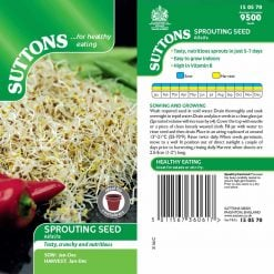 Alfalfa by Suttons Seeds  150570  Nationwide Delivery