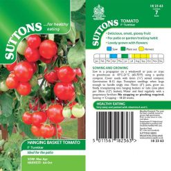 Tomato F1 Tumbler by Suttons Seeds  182363  Nationwide Delivery