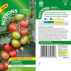 Tomato Crimson Crush F1 by Suttons Seeds  182440  Nationwide Delivery