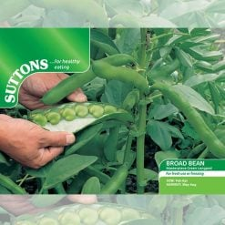 Broad Bean Masterpiece Green Longpod by Suttons Seeds| 194996| Nationwide Delivery